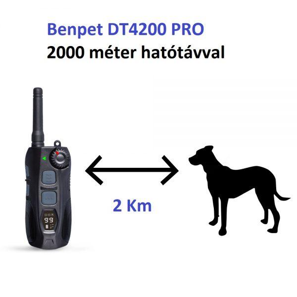 Benpet DT4200 Pro elektromos nyakörv benoshop (17)